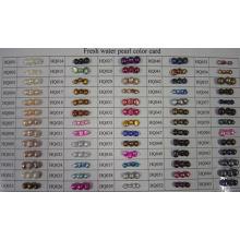 Carte de couleur de perle d'eau douce