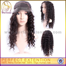 For Small Heads Italian Curl Human Hair Lace Wigs Wholesale Direct