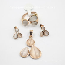 Fashion Stainless Steel Costume Set Jewelry