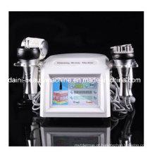8in1 Cavitação de vácuo Tripolar Sextupolar Bipolar RF Fria Bio Photon Slimming Machine e Massagem com Detox de pele