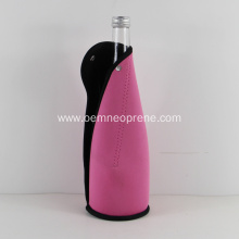 Single 750ml neoprene binding champagne bottle carrier