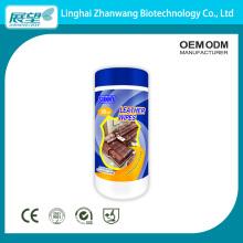 Toalhetes úmidos nutritivos para cuidados e manutenção do couro