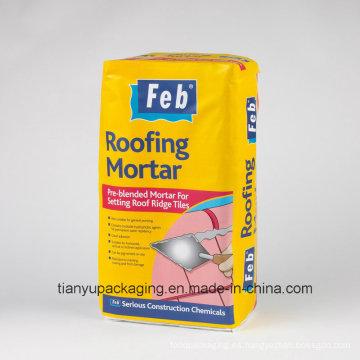 Cubierta Morar Kraft Bolsa de papel de válvula