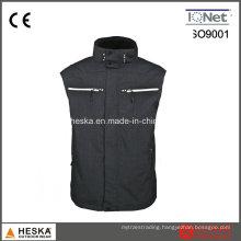 OEM Melange Color Waterproof Mens Worker Vest