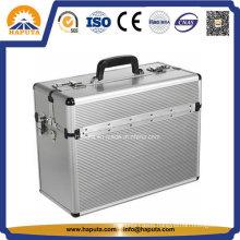 Silver Carry Pilot Hard Case with Shoulder Strap
