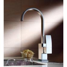 Robinet de lavabo de luxe à levier simple (DH36)