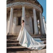 Braut Hochzeitskleid pakistan beliebte Hochzeitskleider mit abnehmbaren Zug in Guangzhou Hochzeitskleid gemacht