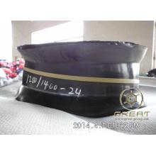 Pneu de esteira de tubo de caminhão durável 1000/1100 / 1200-20,1100 / 1200-22,1200 / 1400-24