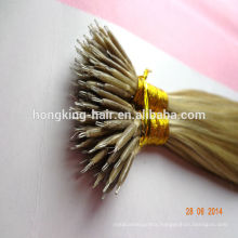 wholesale cheap double drawn nano ring hair extensions