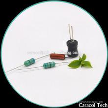 Induzores de filtro horizontal de alta corrente com núcleo de ferrite para motores de LED