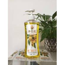 Пластиковая бутылка для шампуня для домашних животных на 500 мл с дозатором для лосьона