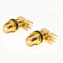 SMA-KWE water (50 ohm) SMA curved seat lengthening waterproof coaxial cable rf connectors