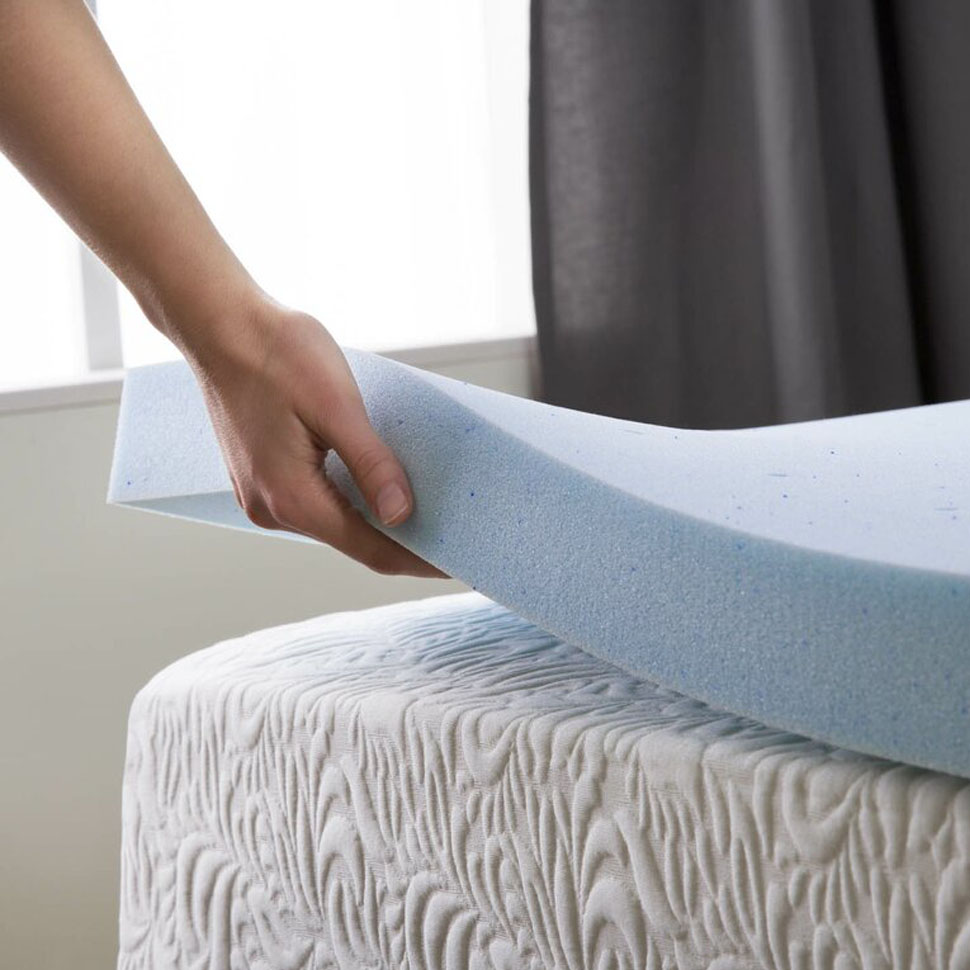 Memory Foam Mattress Topper Under Mattress Pad