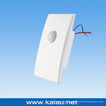 Sensor de movimento PIR embutido em parede (KA-S17B)
