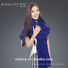 High Quality Lady's winter knitted wool shawl
