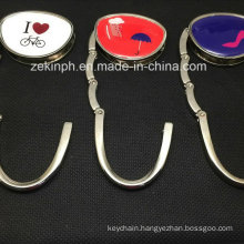 Custom Shape Printing Logo Bag Hanger for Souvenirs