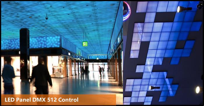 DMX LED Panel 17