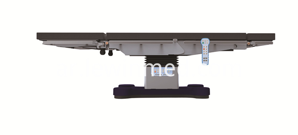 Medical device hydraulic operating table