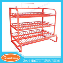 high duty capacity lead acid battery display stand battery storage containers