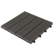 Easy Installation Non-Slip WPC Deck Tiles Waterproof Composite Flooring Tiles
