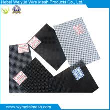 Grillage de haute qualité matériel d'acier inoxydable de 316L avec le PVC enduit