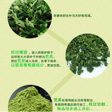 Amarre Guanyin Matcha chá verde em pó
