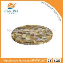 CBM-CS03 Coaster amigável do copo do escudo do mexilhão do triângulo