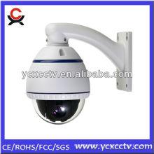 10X IR outdoor waterproof high speed dome camera