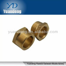 Componentes de latón hueco, piezas de latón de mecanizado CNC
