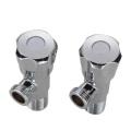 Turn Sink Faucet Lavatory brass Angle Stop Valve