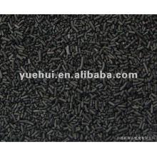 Carvão ativado cilíndrico de 1,5 mm para recuperação de solventes