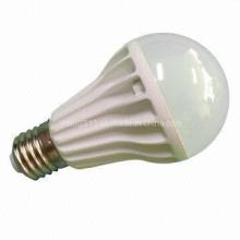 Nueva lámpara de cerámica del bulbo del globo del diseño E27 9W LED, luz