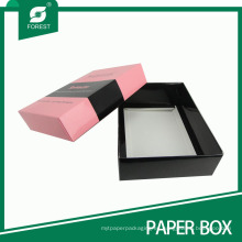 Caja de empaquetado de la cartulina del producto / de la cosmética del cuidado decorativo de la piel
