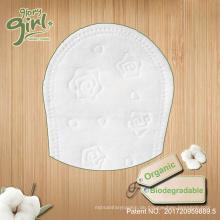 Biologisch abbaubare atmungsaktive zurück Großhandel Bio-Baumwolle Panty weibliche Eigenmarke