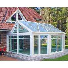 Индивидуальный стиль Double Laminate Glass Aluminium Sunroom для сада и балкона