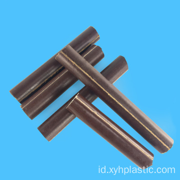 Coklat Phenolic Resin Cotton Laminated Rod
