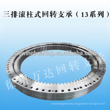 Three Row Roller Internal Gear Slewing Bearing Use for ship's crane,boat's crane