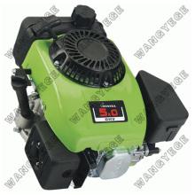 Único cilindro motor a gasolina com potência de 5hp e ignição eletrônica