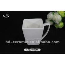 Белый квадратный керамический мю