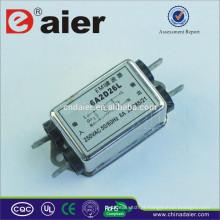 Filtro monofásico de ruído elétrico multiestágio EMI