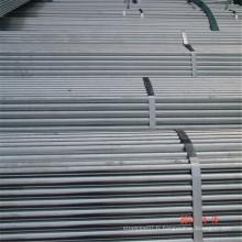 Échafaudage à section ronde soudée au carbone ERW pour la construction