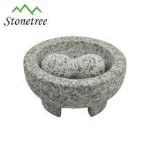 Einzigartiger Granitmörser und Pistill mit guter Qualität und gutem Preis