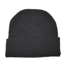 Winter Male Men Acrylic Warm Beanie Hats Sports 2021 Custom Knitted hat Plain Style Promotion Cap