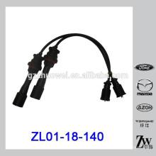 1.6L auto peças ignição fio definido para Mazda 323 BJ ZL01-18-140