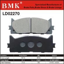 Тормозные колодки высокого качества (D2270)