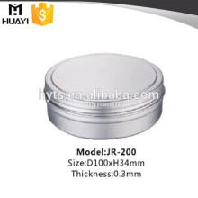 Tarro vacío de la crema de los cosméticos de aluminio 200ml