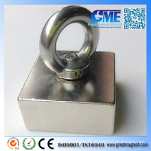 N50 große quadratische Haken NdFeB Magnetic Assembly Pot Magnete