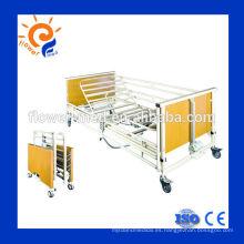 Cama de hospital médico eléctrica multi-funciones básicas de la venta caliente