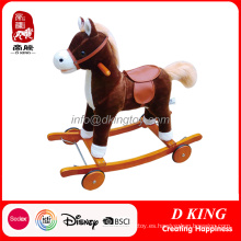 Equipo de patio de niños de juguete de los niños del juguete del patio del caballo de oscilación