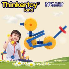 Kit pédagogique en plastique Puzzle Jardin Animal Toy